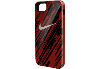HAMA Cover Nike, Backcover, iPhone 5, iPhone 5s, iPhone SE, Rot