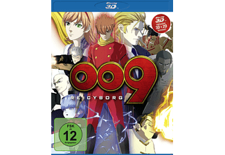 009 Re: Cyborg BD 3D/2D [3D Blu-ray (+2D)]