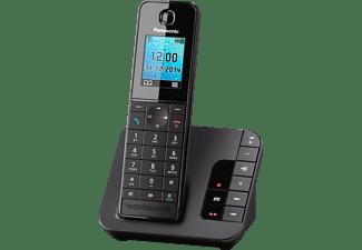 PANASONIC KX-TGH 220 GB, Schnurloses Telefon, Schwarz