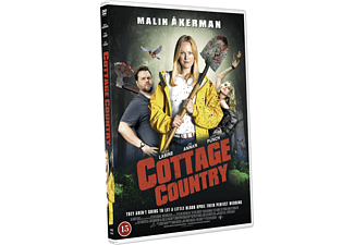 Cottage Country Skräckkomedi DVD