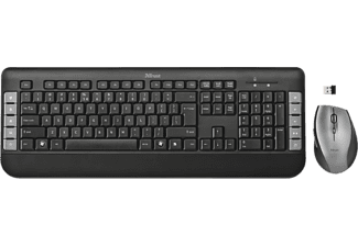 TRUST Tecla Wireless Multimedia Keyboard + Mouse