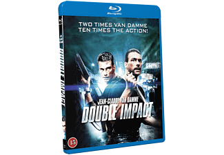 Double Impact Action Blu-ray