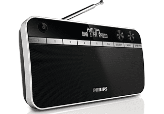 philips ae5250 12 dab draagbare radio kopen media markt. Black Bedroom Furniture Sets. Home Design Ideas