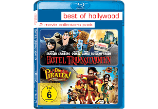 Hotel Transsilvanien / Die Piraten - Ein Haufen merkwürdiger Typen (Best of Hollywood) - (Blu-ray)