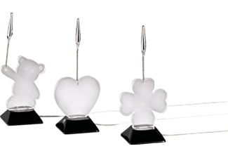 HAMA USB LED Heart/Teddy bear/Cloverleaf