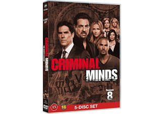 Criminal Minds S8 Thriller DVD
