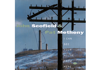 John Scofield & Pat Metheny - I Can See Your House From Here (CD)