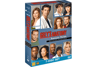Grey's Anatomy S3 Drama DVD
