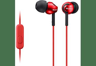MDR-EX110AP in-ear hoofdtelefoon, Rood