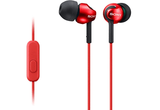 SONY MDR-EX110AP rood