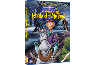 Adventures of Ichabod and Mr Toad Barn DVD