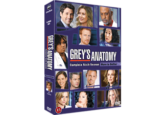 Grey's Anatomy S6 Drama DVD