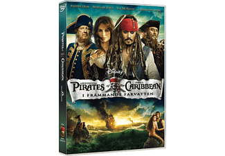 Pirates of the Caribbean: I Främmande Farvatten Äventyr DVD