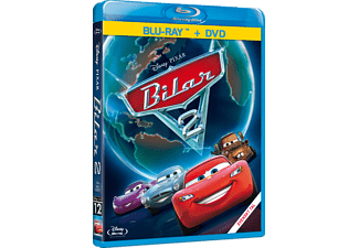 Bilar 2 Barn Blu-ray + DVD