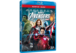 The Avengers Action Blu-ray 3D