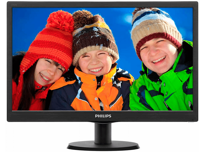 "PHILIPS 193V5LSB2/10 - 19"""" HD Monitor web offers laptop  tablet  computing  οθόνες computing   tablets   offline οθόνε"