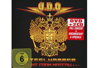 U.D.O. - Steelhammer-Live In Moscow (DVD+2CD Digipak) - (DVD + CD)