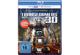 Transformers Box - (Blu-ray + DVD)