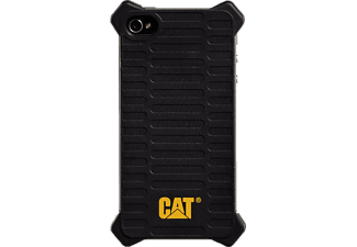 CAT Active Utility Backcover Apple iPhone 4, iPhone 4s Polycarbonat (PC) Schwarz