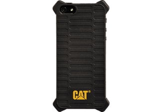 CAT Active Utility Backcover Apple iPhone 5, iPhone 5s, iPhone SE Polycarbonat (PC) Schwarz