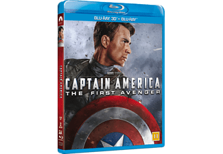 Captain America: The First Avenger Action Blu-ray 3D