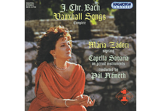 Capella Savaria, Németh Pál, Zádori Mária - Vauxhall Songs (CD)