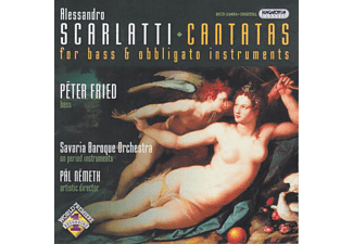 Fried Péter - Cantatas for Bass and obbligato instruments (CD)