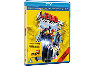 The Lego Movie Familj Blu-ray 3D