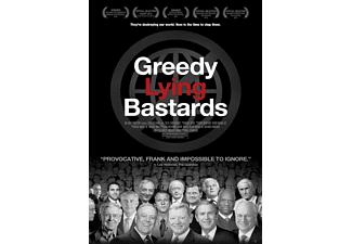 Greedy Lying Bastards Dokumentär DVD