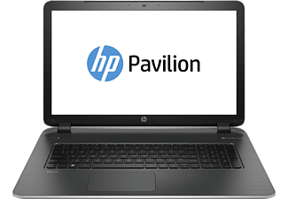 HP Pavilion Notebook PC 17-f279ng, Notebook PC mit 17.3 Zoll Display, Core i5 Prozessor, 4 GB RAM, 1 TB HDD, HD-Grafik 5500, Oberfläche: Ash Silver, Natural Silver; Horizontales Haarlinienmuster