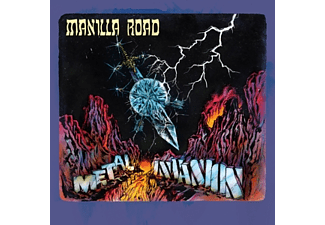 Manilla Road - Metal-Invasion [CD]