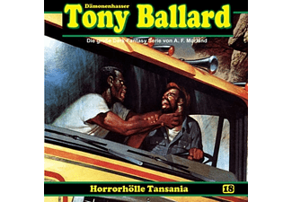 Tony Ballard 18: Horrorhölle Tansania - 1 CD - Horror