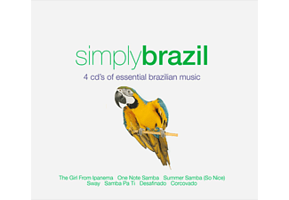 VARIOUS - Simply Brazil - (CD)