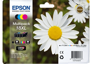 EPSON T1816 Black / Cyan / Magenta / Yellow