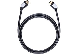 OEHLBACH 42457 Shape Magic-HS HDMI Kabel 7.5 m, HDMI-Kabel, 7500 mm, Schwarz