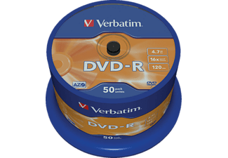 VERBATIM 43548 Scratch Surface DVD-R 4,7GB 16X Rohling 50er Spindel