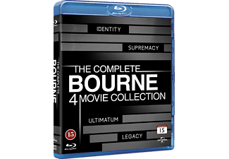 Bourne 1-4 Collection Action Blu-ray