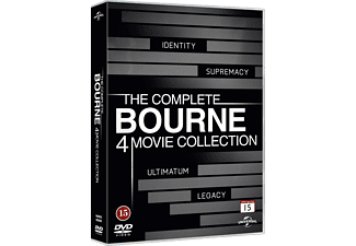Bourne 1-4 Collection Action DVD