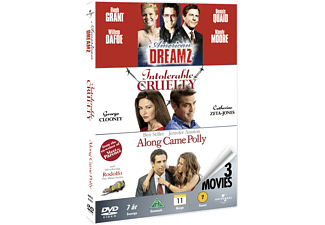 American Dreamz / Intolerable Cruelty / Along Came Polly Drama DVD