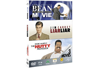 Mr Bean: The Movie / Liar Liar / The Nutty Professor Komedi DVD
