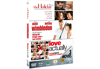 The Holiday / Wimbledon / Love Actually DVD