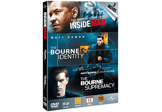 Inside Man / Bourne Identity / Bourne Supremacy Action DVD