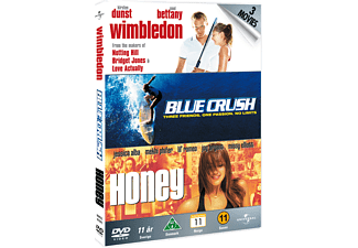 Wimbledon / Blue Crush / Honey Actiondrama DVD