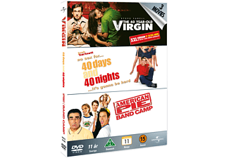 40 Year Old Virgin / 40 Days and 40 Nights / American Pie Presents Band Camp Komedi DVD