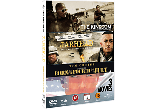The Kingdom / Jarhead / Born on the 4th of July Action DVD