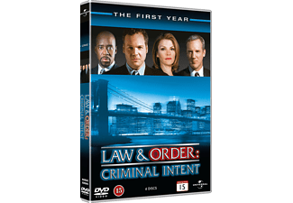 Law and Order: CI S1 Drama DVD