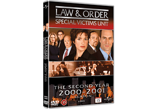 Law and Order SVU S2 Drama DVD