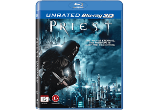 Priest Unrated Action Blu-ray 3D
