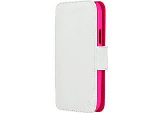TELILEO 0054 Touch Case, Bookcover, Galaxy S5, Crystal-Pink