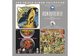 Iron Butterfly - The Triple Album Collection (CD)